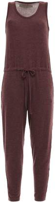 Enza Costa Brushed Modal-blend Jersey Jumpsuit