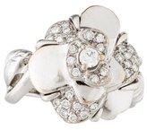 Chanel Diamond Camellia Ring