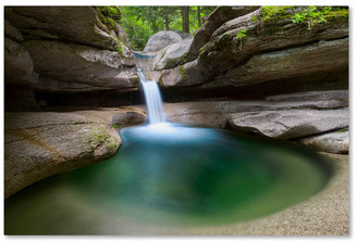 Pool' Trademark Fine Art Michael Blanchette Photography 'Sabbaday Green Canvas Art, 24x16