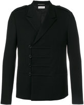 Saint Laurent military short coat