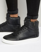 Criminal Damage Catana High Top Sneakers