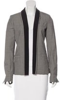 Elizabeth and James Wool-Blend Open Front Jacket