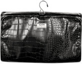 NYX Professional Makeup Black Croc-Embossed Travel Makeup Bag