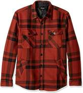 Brixton Men's Durham Relaxed Fit Long Sleeve Flannel Shirt