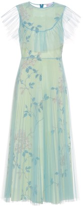 RED Valentino Floral tulle maxi dress