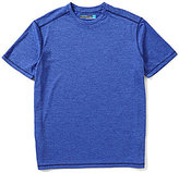 Roundtree & Yorke Performance Short-Sleeve Solid Crewneck Tee