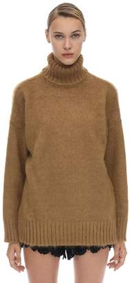 N°21 Oversized Mohair & Wool Turtleneck