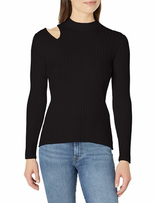 Skinnygirl Women's Robyn Cut Out Pullover Sweater