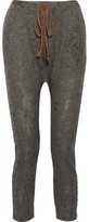 Kain Label Vale Cotton-Blend Stretch-Knit Tapered Pants