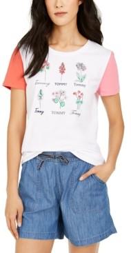 Tommy Hilfiger Cotton Botanical Graphic T-Shirt