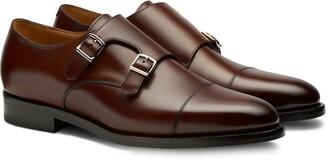 Suitsupply Cap Toe Monk Shoe