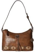 American West Native Sun Zip Top Shoulder Bag