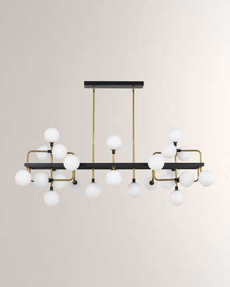 Tech Lighting Viaggio 25-Light Linear Suspension Chandelier