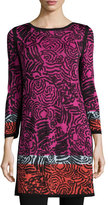 Nic+Zoe Starflower-Print Tunic, Plus Size