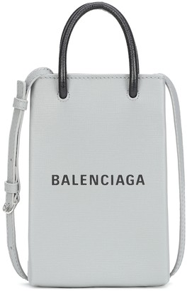 Balenciaga Shopping Phone Pouch crossbody bag