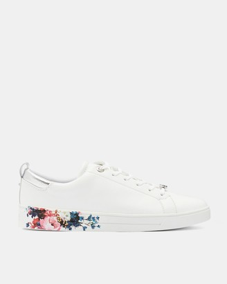 Ted Baker Printed Sole Tennis Trainer