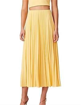 Bec & Bridge Bec + Bridge Sunny Pleated Midi Skirt