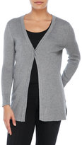 Cable & Gauge Long Sleeve Ribbed Cardigan