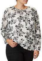 Junarose Plus Floral Printed Tunic