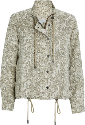 Rails Tennessee Snake Print Utility Jacket