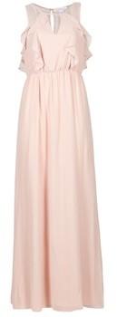 BCBGeneration ALIX women's Long Dress in Pink