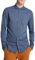 Scotch & Soda Seersucker Stripe Slim Fit Button Down Shirt