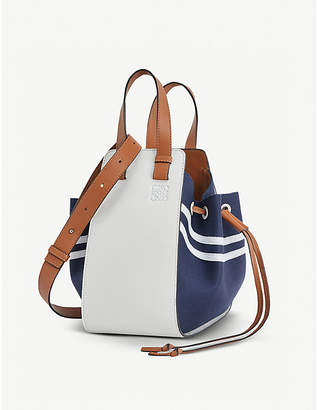 Loewe Hammock small leather sailor handbag