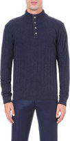 Corneliani Knitted Wool-blend Jumper