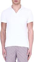 Orlebar Brown Terry cotton polo shirt