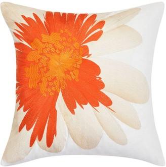 Trina Turk 20x20 Palm Desert Daisy Embroidery