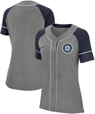 Nike Women's Gray Seattle Mariners Classic Baseball Jersey
