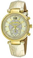 Michael Kors Sawyer MK2444 Women's Stainless Steel Watch with Crystal Accents