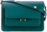 Marni Trunk satchel - women - Calf Leather/Brass - One Size