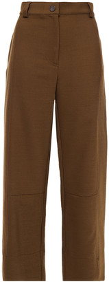 See by Chloe Twill Straight-leg Pants