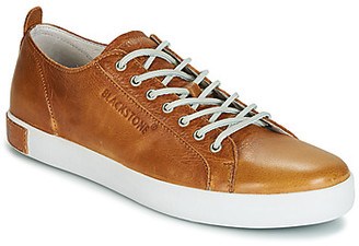 Blackstone NM06 men's Shoes (Trainers) in Brown