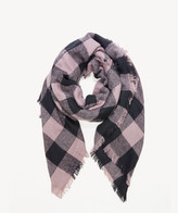 Sole Society Women's Over Gingham Scarf Mauve Multi From