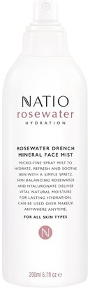 Natio Rosewater Hydration Drench Mineral Face