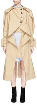 YCH Oversized cotton drill trench coat