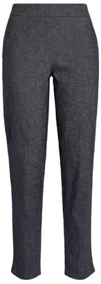 Fabiana Filippi Linen-Blend Elasticated Trousers