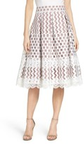 Eliza J Women's Lace Midi Skirt