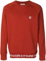 MAISON KITSUNÉ Fox head sweatshirt