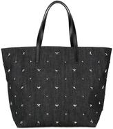 RED Valentino star studded tote - women - Cotton/Leather/metal - One Size