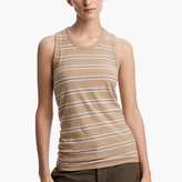 James Perse Retro Stripe Vintage Tank