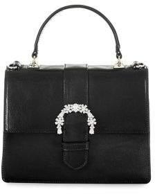Brahmin Topsail Luxe Mini Francine Leather Satchel