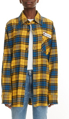 Acne Studios Salak Plaid Flannel Shirt