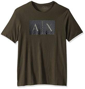 Armani Exchange A|X Men's Triangulation Crew Neck Tshirt