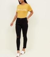 New Look Petite Skinny Ripped Knee Jenna Jeans