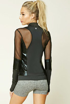 Forever 21 Active Mesh-Panel Jacket