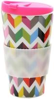 French Bull Ziggy Porcelain Traveler Mug