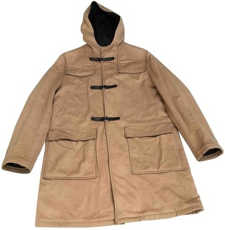 Prada Beige Wool Coats